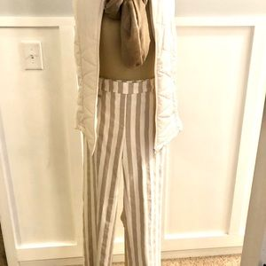 NWT Sharagano stripped pant